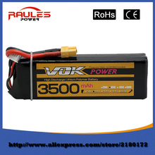 Free Shipping Lipo Battery 11.1V 3500Mah 3S 35C XT60 For RC Helicopter Quadcopter Drone Truck Car Boat Bateria Lipo