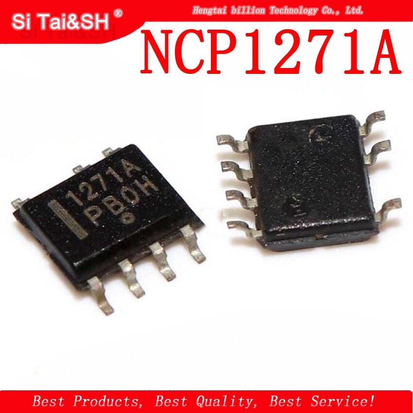 5pcs NCP1271 SOP8 NCP1271A SOP NCP1271ADR2G 1271A SMD5pcs NCP1271 SOP8 NCP1271A SOP NCP1271ADR2G 1271A SMD
