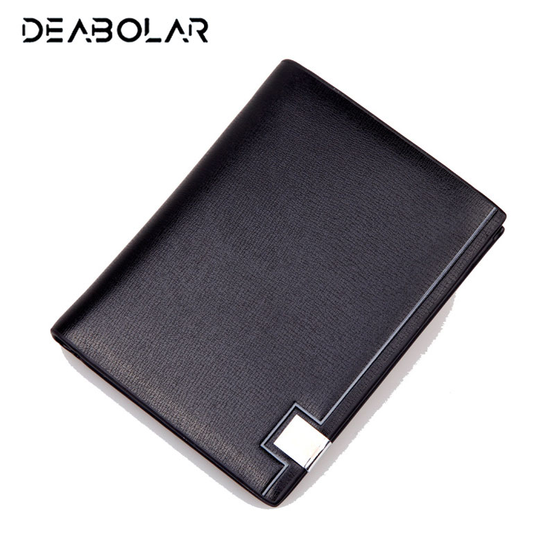Men Business Leather Wallets Purses Brand Black Male Clutch Carteira Masculina Wallet Card Holder for Men double zipper men clutch bags high quality pu leather wallet man new brand wallets male long wallets purses carteira masculina
