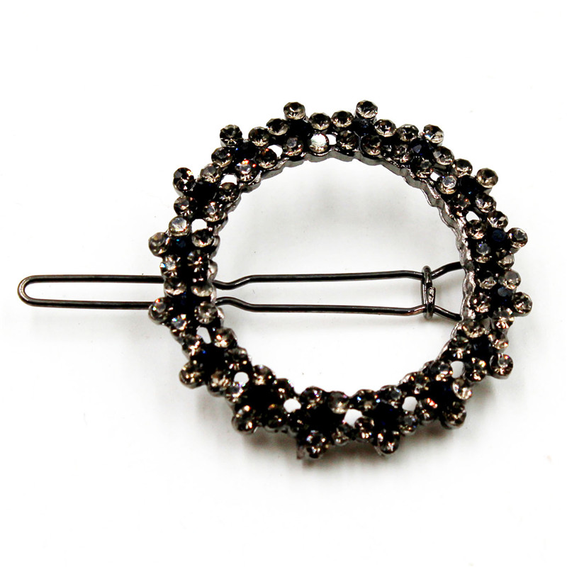 Trends Rhinestone Hairpins Love Starfish Five pointed Stars Hairpins Clips Girl Ponytail Metal Hair Accessories in Hair Jewelry from Jewelry Accessories