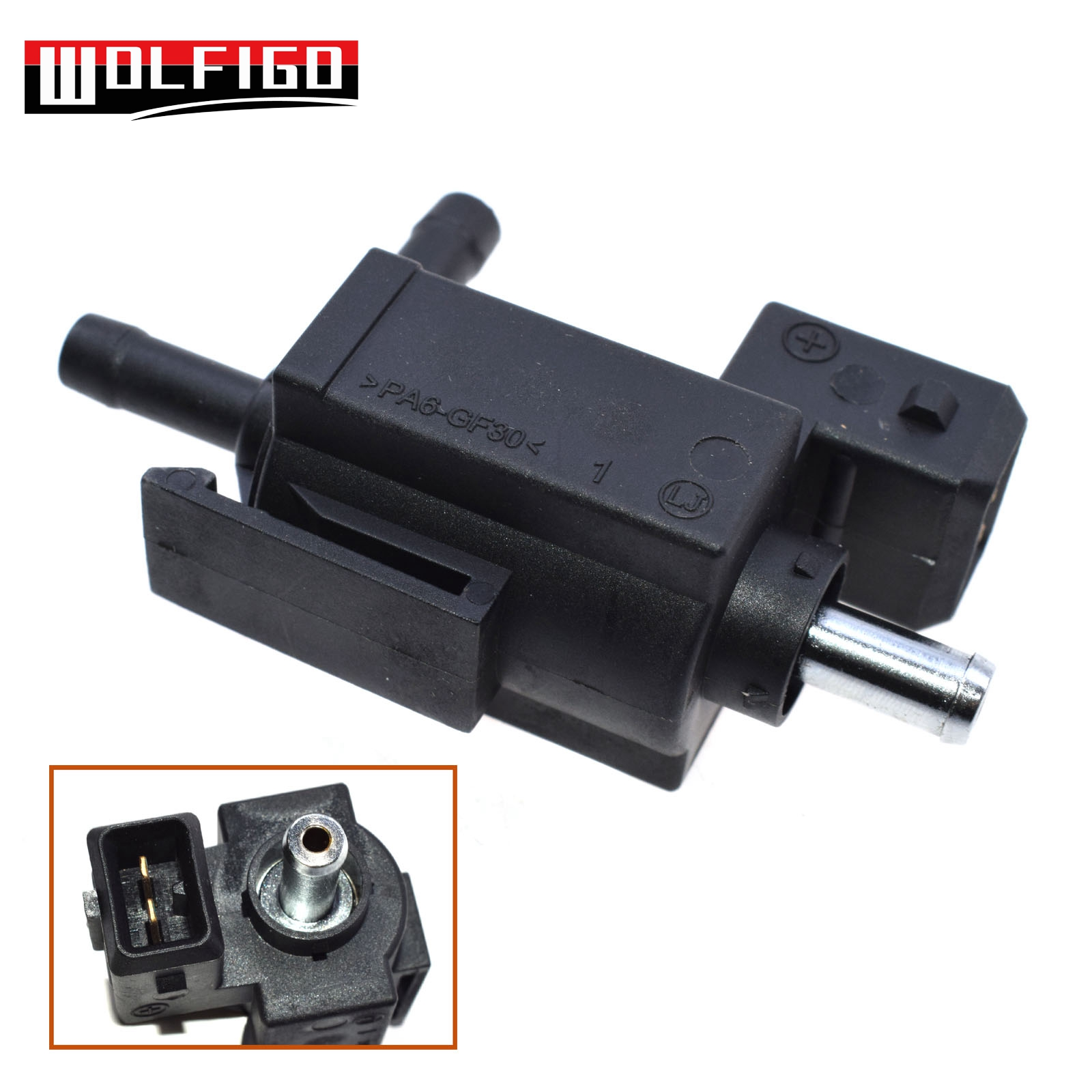 WOLFIGO New For Saab 9-3 9-5 For OPEL VECTRA C For VAUXHALL VECTRA Mk II (C) Turbocharger Boost Control Valve Pierburg 728311040