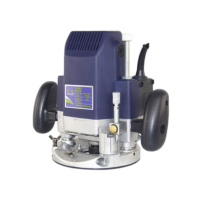 220V High-power woodworking engraving machine Electric Router Grooving trimming machine 1800W 23000RPM electric woodworking trimming machine sl 1069 multi function engraving machine aluminum body trimmer 220v 50hz 350w 3000r min
