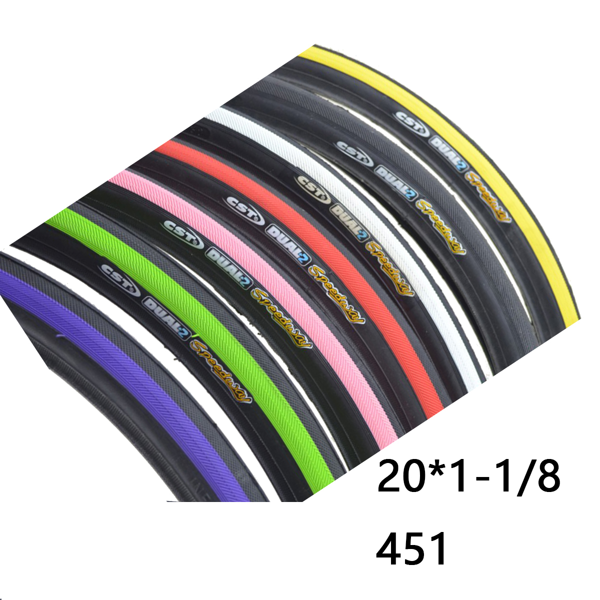 20*1 1/8 451 bike tire for folding bike BMX high pressure ...