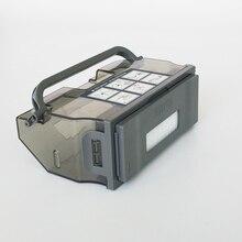 Elektrikli süpürge toz kutusu filtresi ecovacs deebot için M81 M81 PRO robotlu süpürge parçaları toz kutusu koleksiyonu yedek