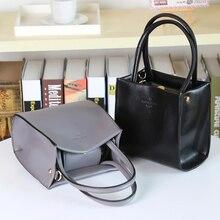 New Mini Bucket Small Bag 2016 Women Messenger Bags Totes Korean Shoulder Simple Hand Bag