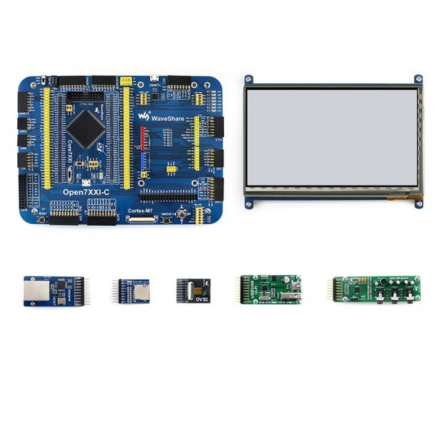 Módulos MCU Placa de Desenvolvimento Open746I-C Pacote Um STM32F746IGT6 STM32F7 STM32F746I integra várias interfaces padrão