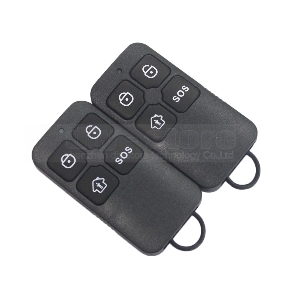 DIYSECUR K6 Wireless 433Mhz Keyfobs Remote Control for Our Related Home Alarm Home Security System Black наушники akg y20 белые