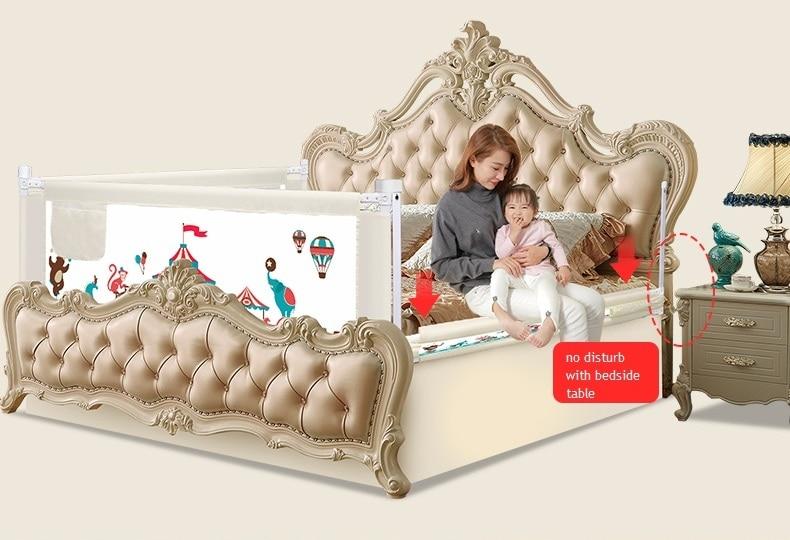 """3 pusių kūdikių lovų tvora Vaikų žaidimų stendas """"Saugūs - Vaikų veikla ir įranga - Nuotrauka 2"""