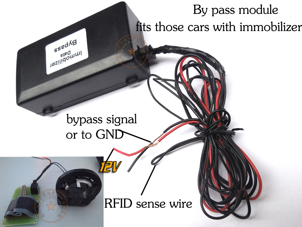 Common Immobilizer bypass module working with remote start