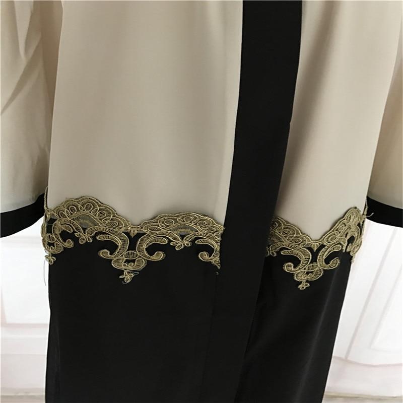 Muslim Cardigan Abaya Pakaian Turki Wanita Pakaian Panjang Pakaian - Pakaian kebangsaan - Foto 6