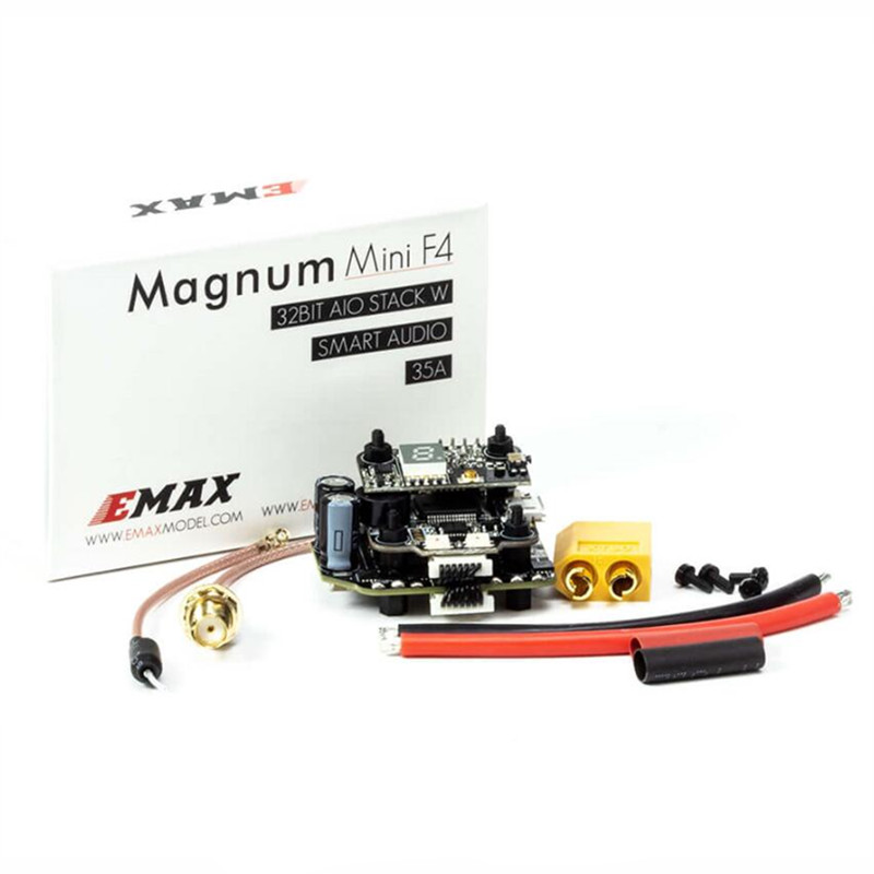 EMAX MINI MAGNUM 2 F4 6S BLHELI 32BIT 35A 4 in 1 ESC for FPV Racing Drone hot new eachine stack x f4 flytower spare part 35a 4 in 1 esc 2 6s blheli s dshot600 ready for rc drone fpv racing