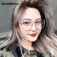 2019 NEW Square Frame Vintage Sunglasses Women Oversized Big Size Sun Glasses for Men Female Shades Black UV400 Eyewear 2019 newest square frame vintage sunglasses women oversized big size sun glasses for men female shades gold gray uv400 eyewear