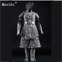 Mnotht 1/6 AS008 Silver Toys Ancient Dragon Armor soldier Clothes model for 12'' Action Figure dolls assceeories cllection