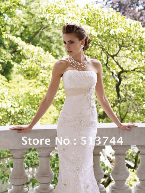 Brand New Beaded Embroidery See Layout   Wedding Dress  Bridal Gown Custom Any Color and Size