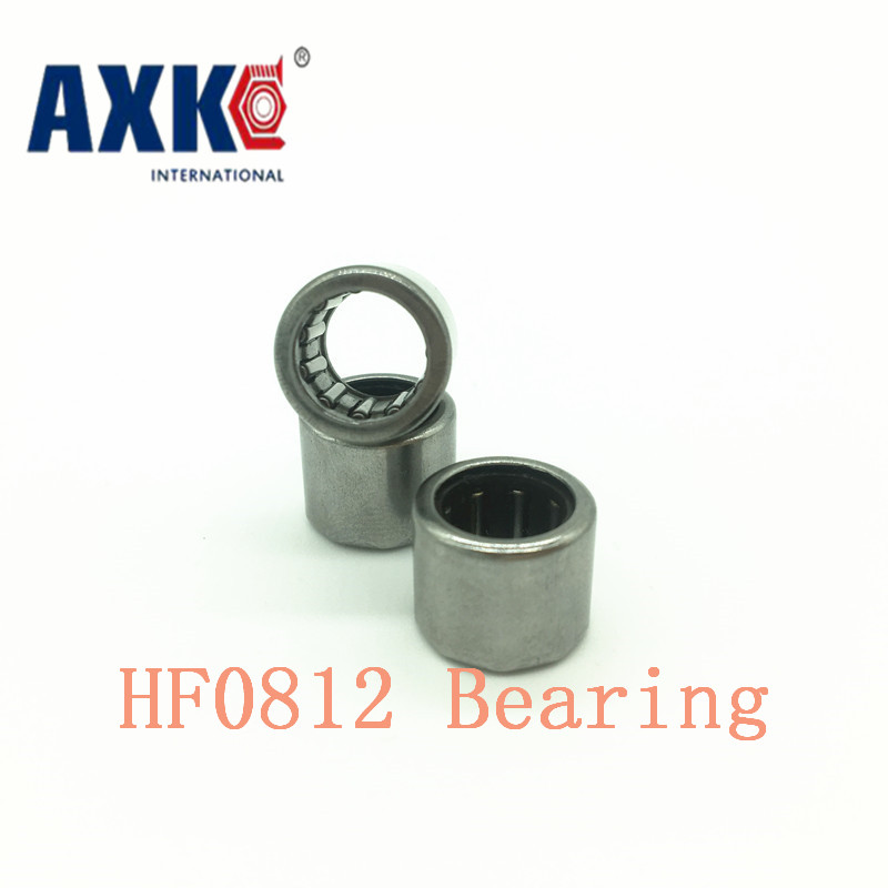 2019 Sale Thrust Bearing Rodamientos Rolamentos Axk <font><b>Hf0812</b></font> Bearing 8*12*12 Mm ( 4 Pcs ) Drawn Cup Needle Roller Clutch Hf081212 image