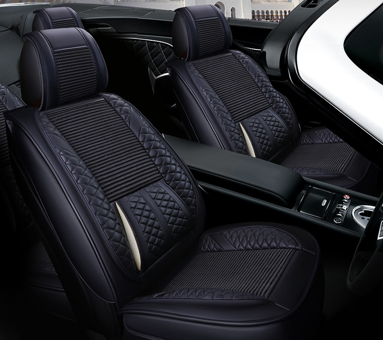 High quality! Full set car seat covers for Toyota Land Cruiser 200 5 seats 2017 2010 fashion durable seat covers,Free shipping
