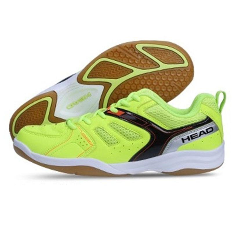2018 Badminton chaussures hommes cuir Badminton Tennis hommes rouge/bleu Court chaussures Badminton hommes intérieur Sneakers chaussures taille 35-44