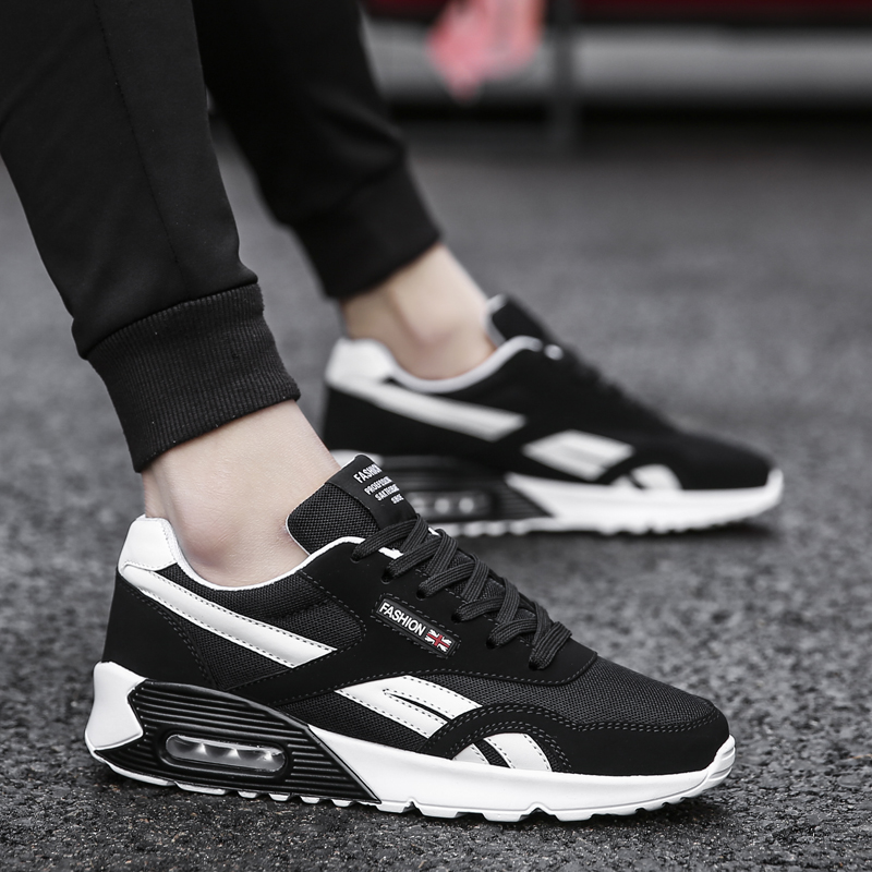 Sufei New Spring Autumn Running Shoes Men Outdoor Comfortable Sports Jogging Sneakers Athletic Trainer