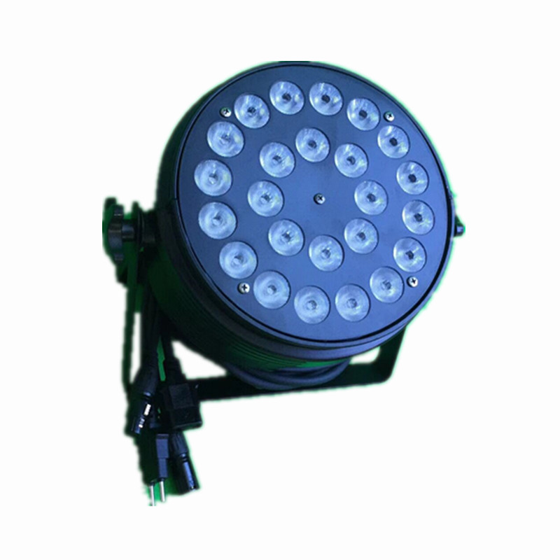 Waterproof led light 24x10W rgbw 4 in 1 outdoor led disco lights par can wash stage lighting ip65 dmx  dj equipment background