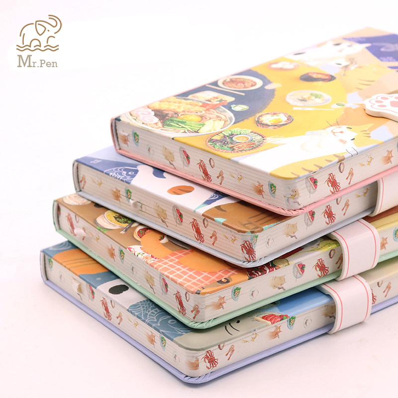 Hardcover Notebook Kawaii Stationery