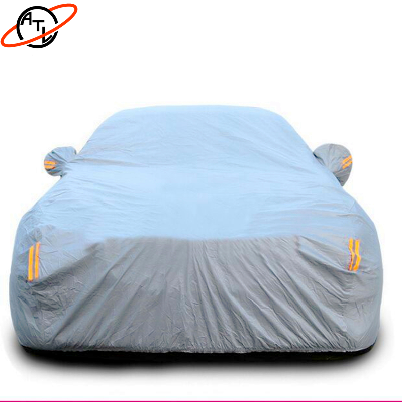 ATL D4k Thicken high density flocking car cover,rain proof snow defence,dust proof hail proof A3 A4 A5 A6 A7 Q3 Q5 Q7