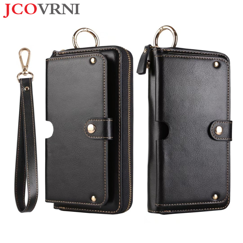 JCOVRNI Luxury multifunction leather wallet for iphone7 7plus 6 6plus full fit 4 7 inch in