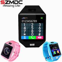 SZMDC Children Smart Watch DZ09 Support SIM TF Cards For Android Phone child Camera Women Men Bluetooth Watch With Retail Box