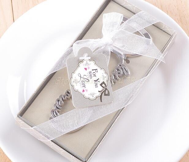100 piezas amor para siempre abrebotellas recuerdos de boda y regalos de boda para invitados recuerdos de boda suministros de fiesta-in Obsequios para fiestas from Hogar y Mascotas    2