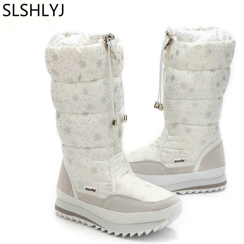 Desgaste Zapatos 42 Felpa 35 White Botas Calientes La black Blanco Fácil Más Grande De Tamaño Zip Invierno Mujeres Nieve 1w6AIq
