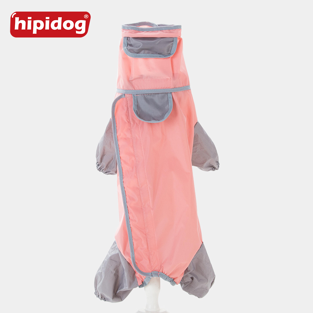 Hipidog Pet Chien Imperméable Chiot Caniche Étanche Hoodies Slicker Salopette Manteau de Pluie Pour Petits Chiens Yorkshire Globale Vêtements