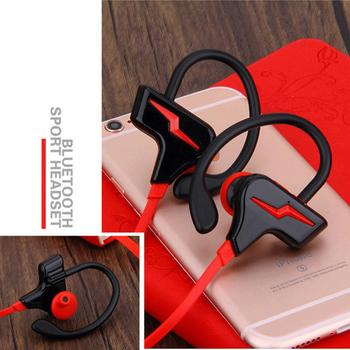 Sports Bluetooth Headset High Quality Stereo Headset Sports Wireless Running Headphones Earphones CSR Chips