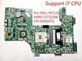Para dell n7110 dav03amb8e1 laptop motherboard 100% testado