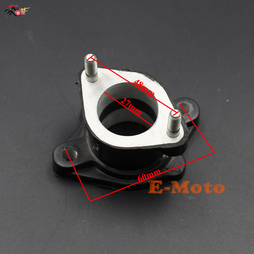 1pc Intake Manifold Pipe Moped Scooter Atv Go Kart Engine Part For Gy6 125cc 150cc Exquisite Workmanship In