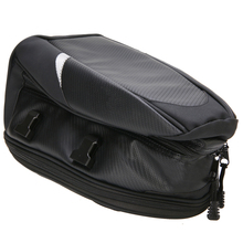 Mayitr 1pc Motorcycle Luggage Seat Bag 230T Polyester EVA Plate Forming Fanny Pack With Waterproof Cover