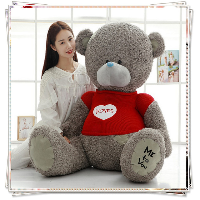 giant teddy bear spongebob pillow plush kids toys stuffed animal soft toy valentine day gift rag
