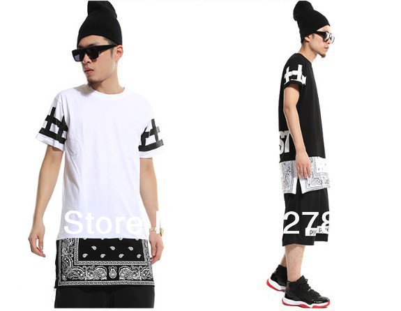 Men tshirt side zipper extended top cease desist lengthen bandana men tshirt side zipper extended top cease desist lengthen bandana women short sleeve t shirt fashion trend dress tyga short tee in t shirts from mens thecheapjerseys Gallery