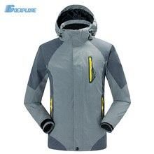 Dropshipping nuevo invierno ski nieve chaquetas clásicas 2 capa a prueba de viento al aire libre a prueba de agua famosa Cazadora chaqueta para hombre