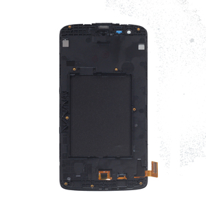 Image 2 - brand new For LG K8 LTE K350 K350N K350E K350DS LCD Display Touch Screen digitizer Assembly Replacement with Frame Repair kit