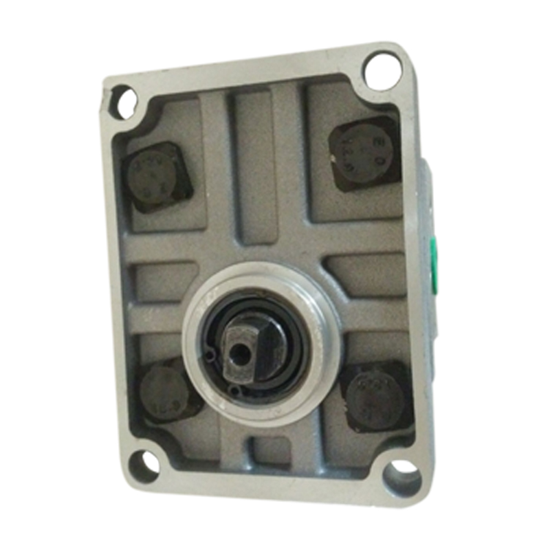 Gear pump CBN-E308-FBR CBN-F308-FBR CBN-E310-FBR CBN-F310-FBR high pressure hydraulic oil pump gear pump cbn e316l left rotation with flange no end oil outlet splined long shaft of dongfeng tractor