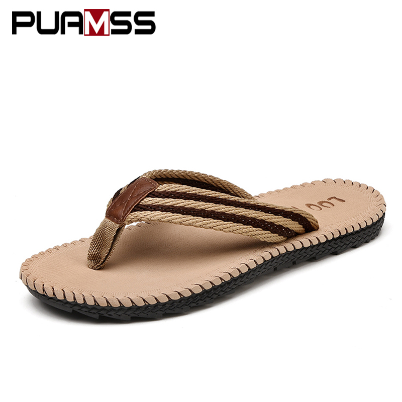 2018 Summer Cool Men Slippers Sandals Beach Slippers Comfortable Fashion Slippers Men Flip Flops Men Shoes Plus Size 45 fghgf shoes men s slippers mak