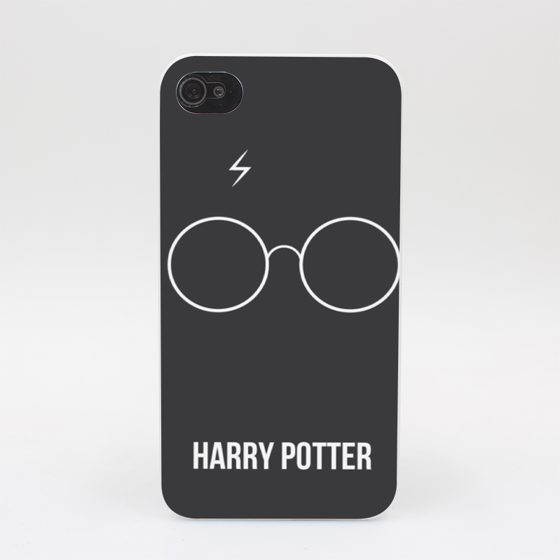 253GS HARRY POTTER Hard White Case Cover for iPhone 4 4s 5 5s 5c SE 6 6s Plus Print