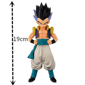 Image 5 - Dragon Ball Z Gotenks Standing Style Action Figure DBZ Goten Trunks Fusion Goku Super Saiyan Collection Model Toys 19cm