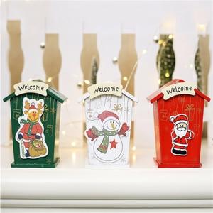 Image 1 - Новинка, Рождественская жестяная мини коробка для конфет, детские подарки, мультяшная копилка, Подарочная коробка, коробки для хранения, банки