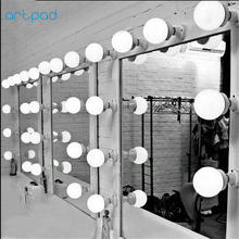 5/10/15/20 PCS Easy Wall Mount Modern LED Mirror Light E26/E27 Washroom Dressing Room Make Up Lamp For Mirror Front(China)