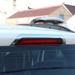 ABS Chrome samochodów zewnętrzne światła hamowania dekoracji rama pokrywy naklejki nadające się do Ford Ecosport 2013 2014 2015 2016 akcesoria w Naklejki samochodowe od Samochody i motocykle na
