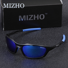 MIZHO Anti Reflective แว่นตากันแดดแว่นตากันแดด Polarized กระจกแฟชั่นกรอบแว่นตาชายหญิงดวงอาทิตย์แว่นตาเดินทาง