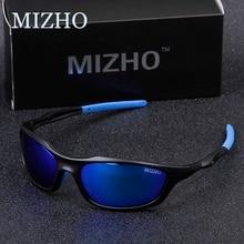MIZHO marka Anti yansıtıcı sürüş güneş gözlüğü erkekler polarize ayna moda küçük çerçeve erkek gözlük kadın güneş gözlüğü seyahat