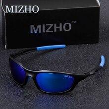 MIZHO מותג אנטי רעיוני נהיגה משקפי שמש גברים מקוטב מראה אופנה קטן מסגרת זכר נשים משקפי שמש משקפיים נסיעות