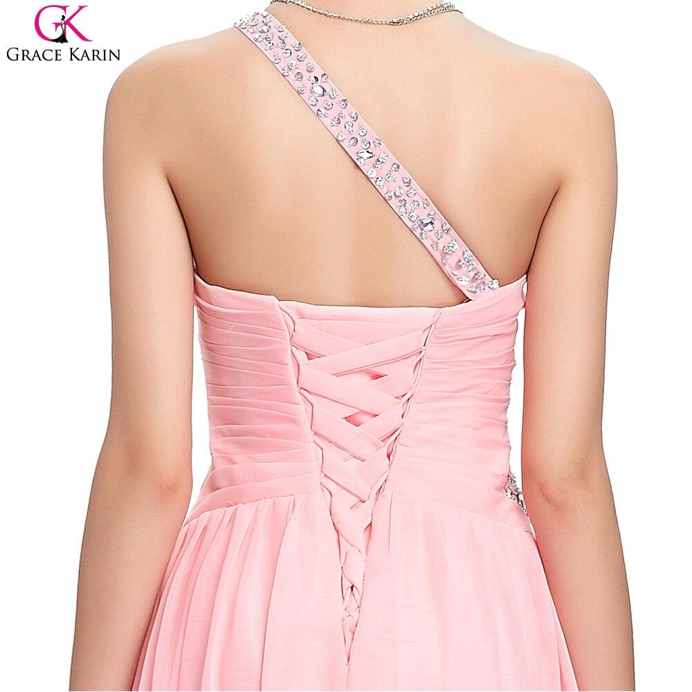 Grace karin dress trasero largo delantero corto alto bajo un hombro ...