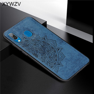 Image 4 - For Samsung Galaxy A30 Case Soft Silicone Luxury Cloth Texture Hard PC Phone Case For Samsung Galaxy A30 Cover For Samsung A30